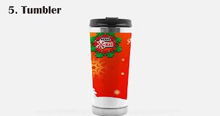 Tumbler  merupakan salah satu trend souvenir natal tahun 2020