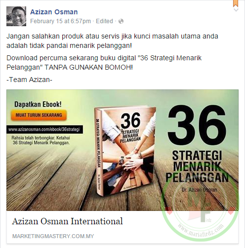Download Pecuma Ebook 36 Strategi Menarik Pelanggan!