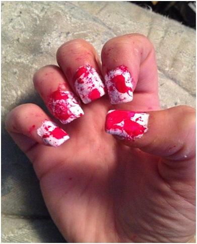 Tips For Nail Designs For Serial Killer Color Block Nails