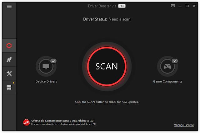 Screenshot IObit Driver Booster Pro 7.2.0.598 Full Version