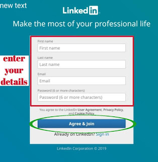 how to use LinkedIn in hindi