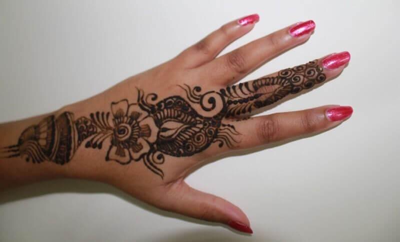 Contoh Motif Henna Pengantin Henna Wedding Beautiful Sirania Xyz