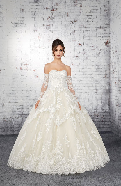 UK Madeline gardner style white color wedding dress