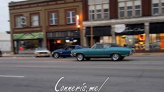 Draggin Douglas Classic Blue Chevrolet Chevelle 2