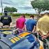 PRF prende grupo com arma de fogo em carro blindado em Itaberaba