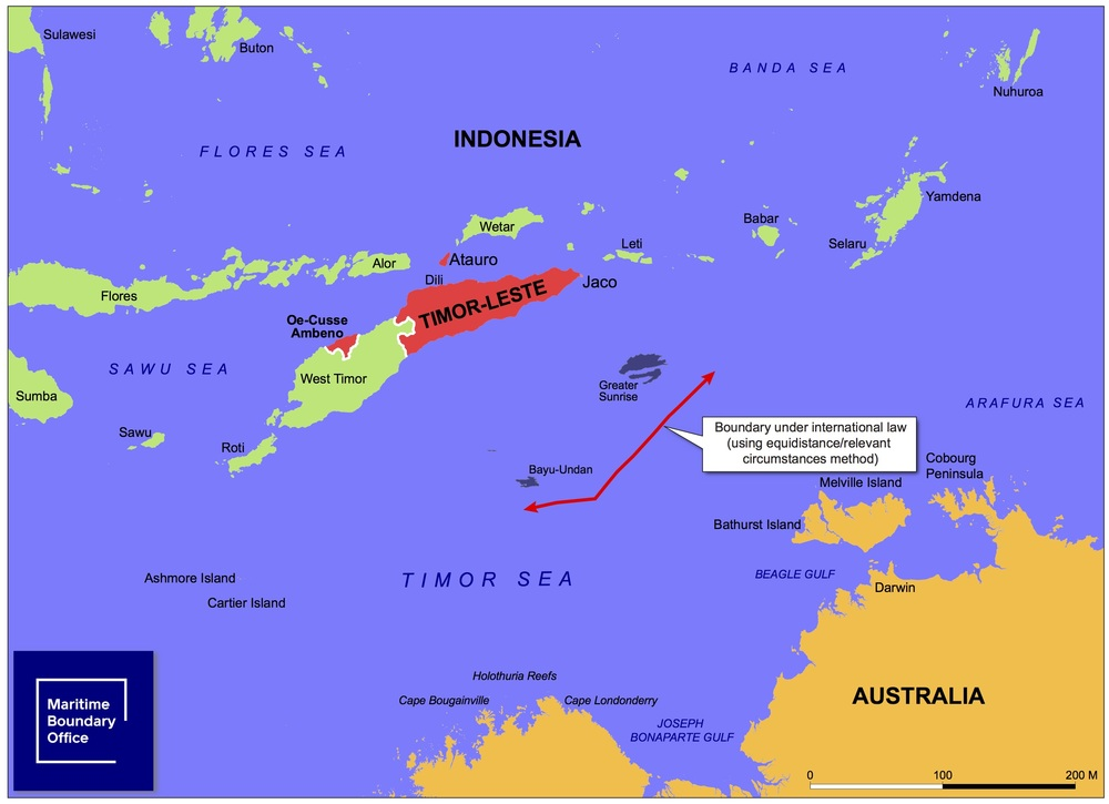 East Timor Law and Justice Bulletin A just boundary between East