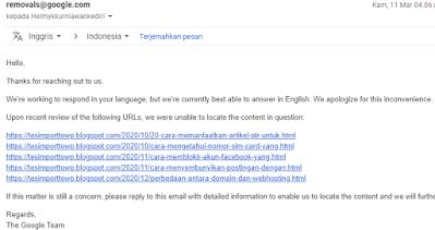 Layanan hosting ignore DMCA