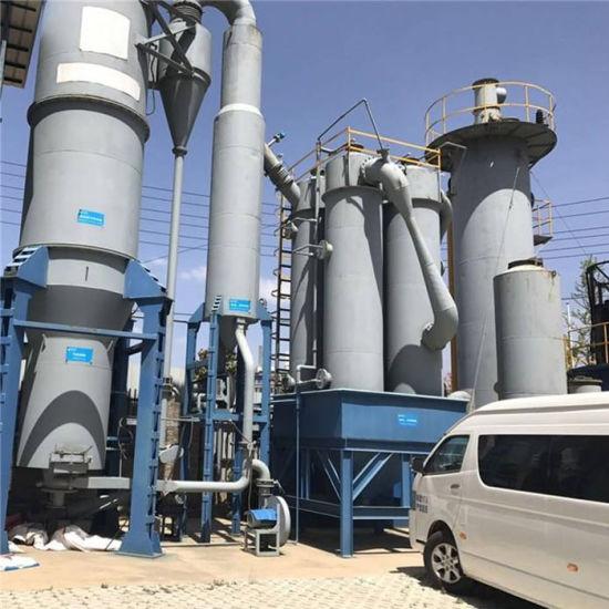 Planta de generación eléctrica que utiliza pirólisis
