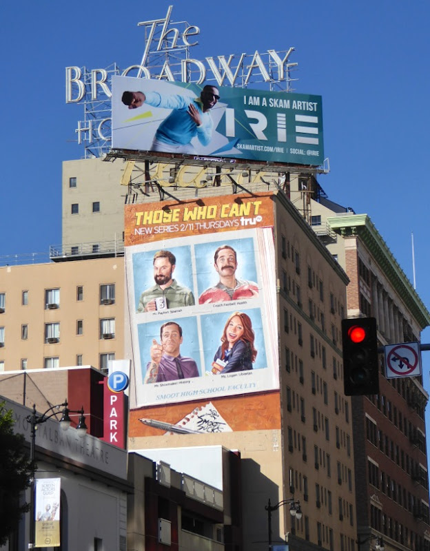 Those Who Can't season 1 billboard