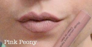 sephora cream lip stain pink peony