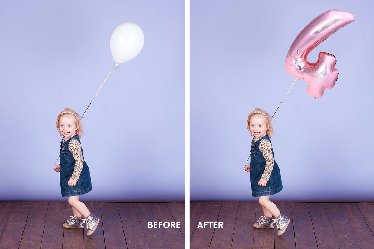 80 Number Balloons Photo Overlays 5224487..