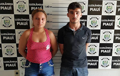 Preso em Luzilândia casal que marcava encontros amorosos para seduzir vitimas
