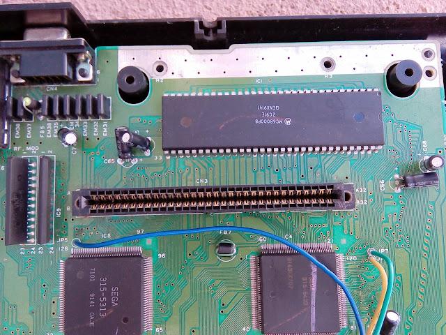 Sega Genesis - Mega Drive Americano - Processador