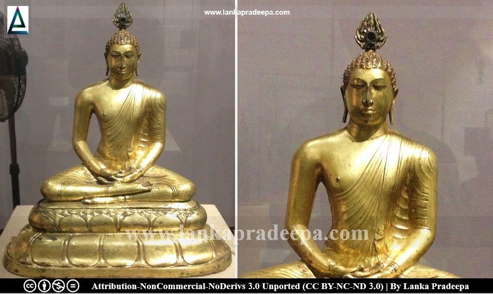 Veheragala Seated Buddha Statue