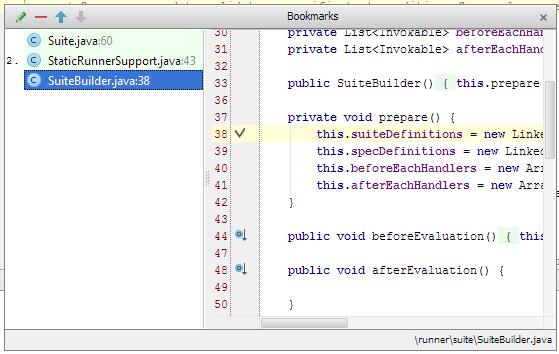Using IntelliJ Bookmarks - DZone Java