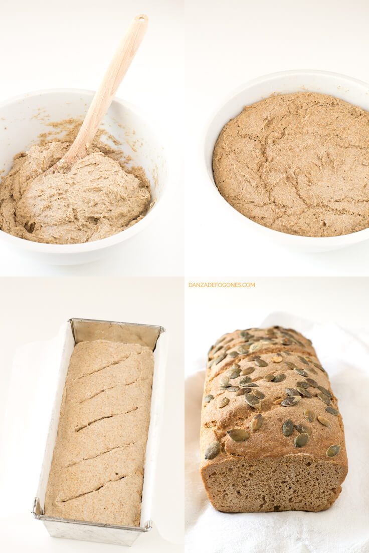 Rye and Spelt Bread step by step