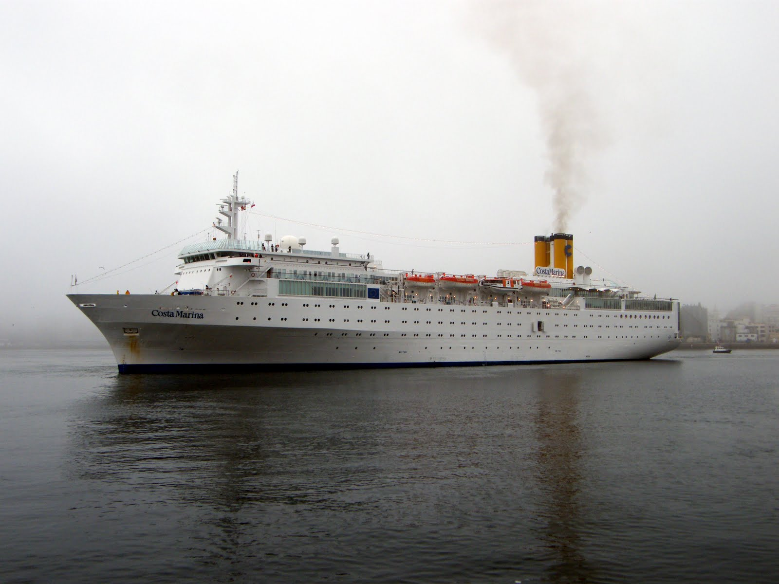 a853312d6 Precisamente hace tan sólo unas semanas Costa Cruceros hacía oficial que el  Costa Marina abandonará la flota italiana a finales de este año sin  determinar ...