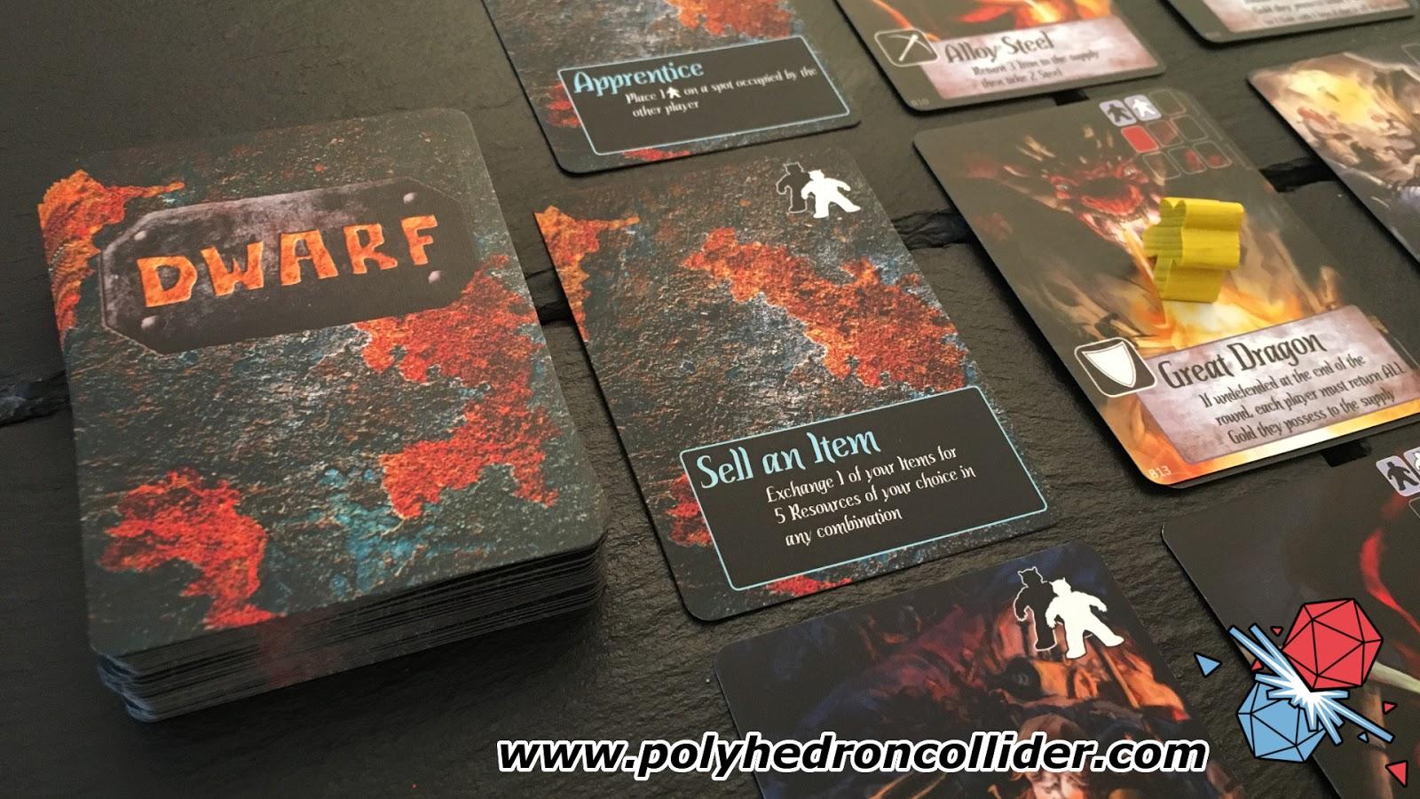 dwarf kickstarter tabletop board game review