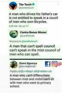 Hilarious! See How These Guys Ridicule Themselves Due to Wrong Spellings