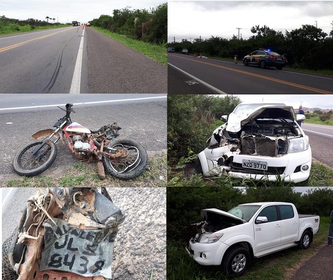 Tragédia: Casal e filho de 5 anos morrem em grave acidente na BR 407, em Sr. do Bonfim