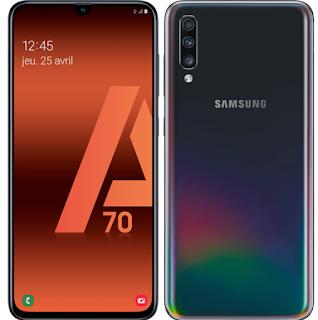 سعر هاتف سامسونج جالكسي samsung galaxy A70 في الإمارات العربية