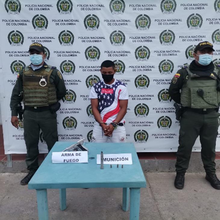 hoyennoticia.com, En Maicao uno estaba armado ilegalmente y otro se robó una planta eléctrica