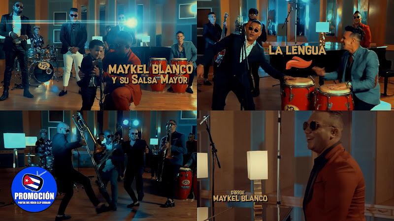 Maykel Blanco y su Salsa Mayor - ¨La Lengua¨ - Videoclip - Director: Maykel Blanco. Portal Del Vídeo Clip Cubana. Música popular bailable cubana. Cuba