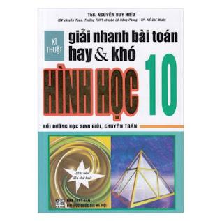 Kĩ Thuật Giải Nhanh Bài Toán Hay & Khó Hình Học 10 ebook PDF-EPUB-AWZ3-PRC-MOBI