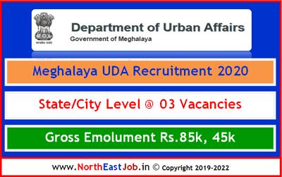 Meghalaya_UDA_Recruitment