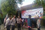 Hari Bhayangkara Ke-75, Polresta Bandung Dukung Vaksinasi Massal Sejuta Dosis