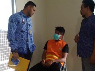 Seorang Pemuda Asal Malaysia Di Tangkap Kantor Imigrasi Kelas1 TPI Cirebon Di Duga Menyalahkan Visa Kunjungan