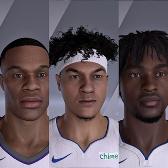 NBA 2K21 ALL New Rookie Face Scans or Cyberfaces Extracted from Patch 1.09