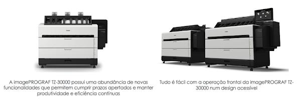 Impressora imagePROGRAF mais rápida de sempre impulsiona a impressão de grande formato no mercado de produção CAD