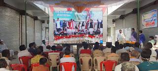 भाजपा जिलाध्यक्ष ने बहादरपुर में किसानों को बताए नए कृषि कानून के लाभ