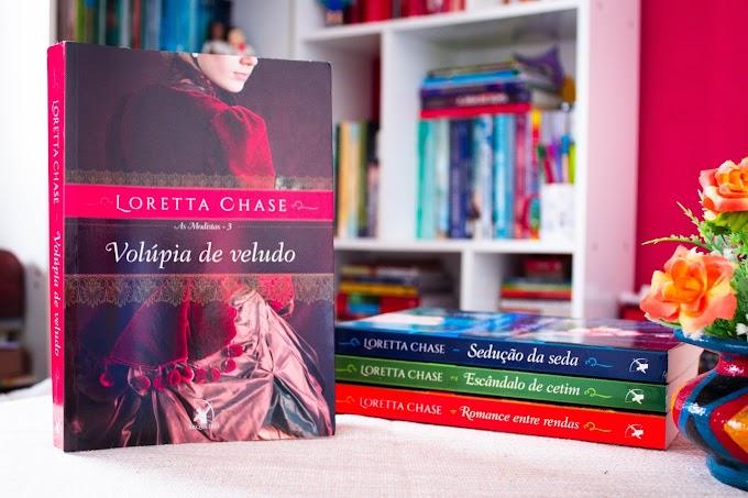 Resenha: Volúpia de Veludo - Loretta Chase