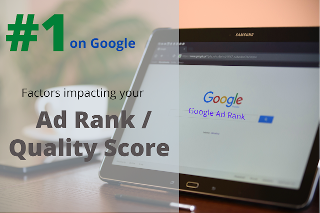 Rank #1 on Google Search by optimizing these 3 Ad aspects
