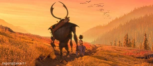 Kubo and Two Strings Sinopsis Scene