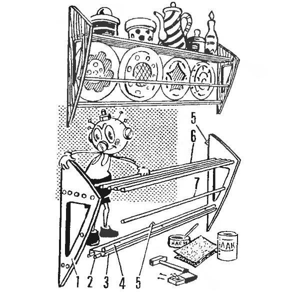 изготовление полки