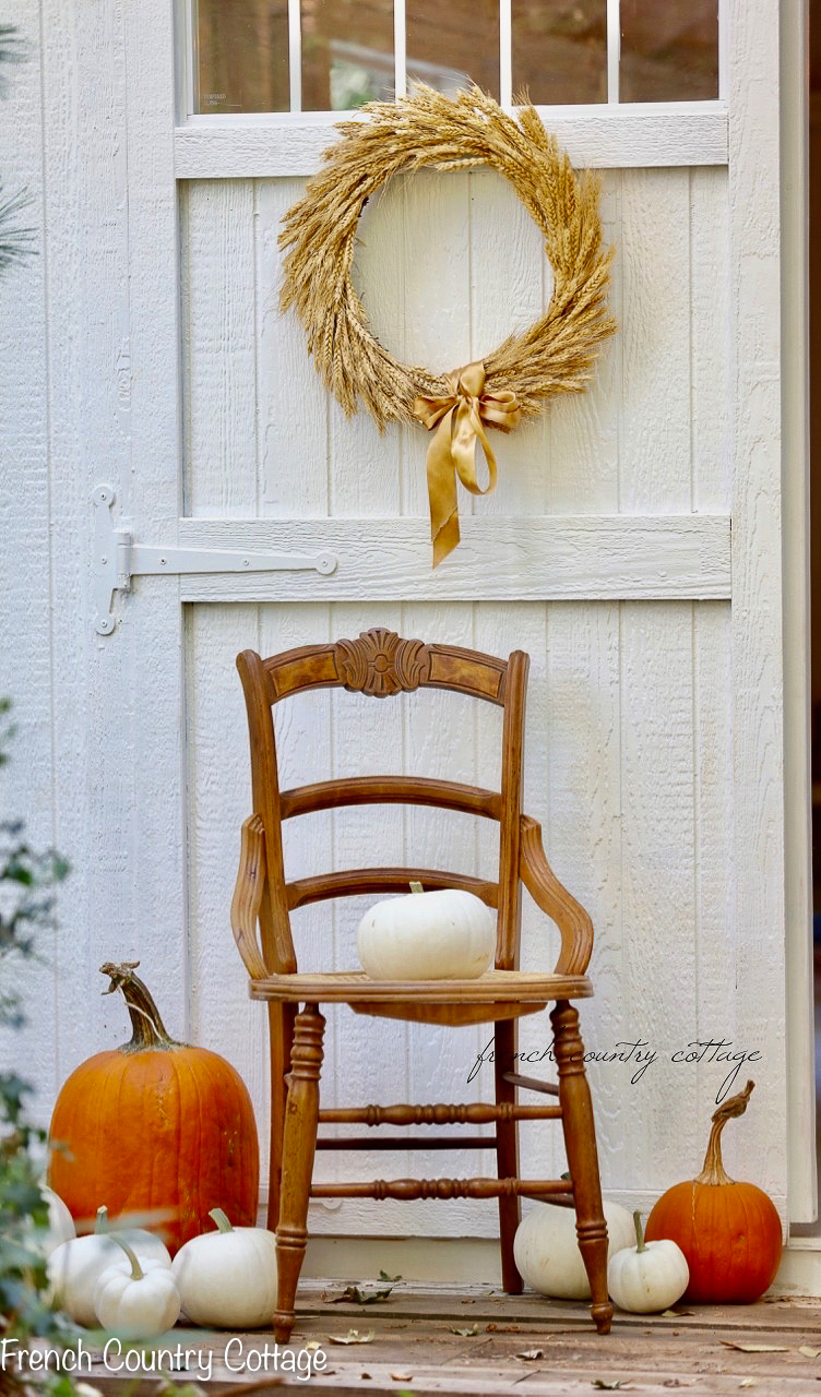 20 Minute Autumn Decorating Ideas French Country Cottage