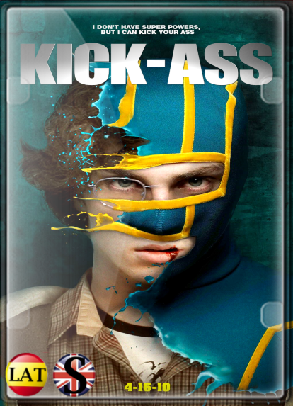 Kick-Ass: Un Superhéroe Sin Superpoderes (2010) HD 1080P LATINO/INGLES