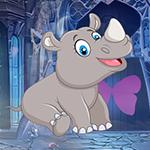 G4K Lovable Infant Rhino Escape