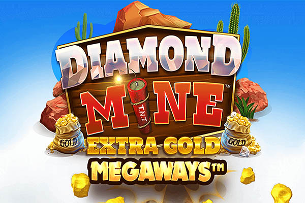 Main Gratis Slot Indonesia - Diamond Mine Extra Gold Megaways (Blueprint Gaming)