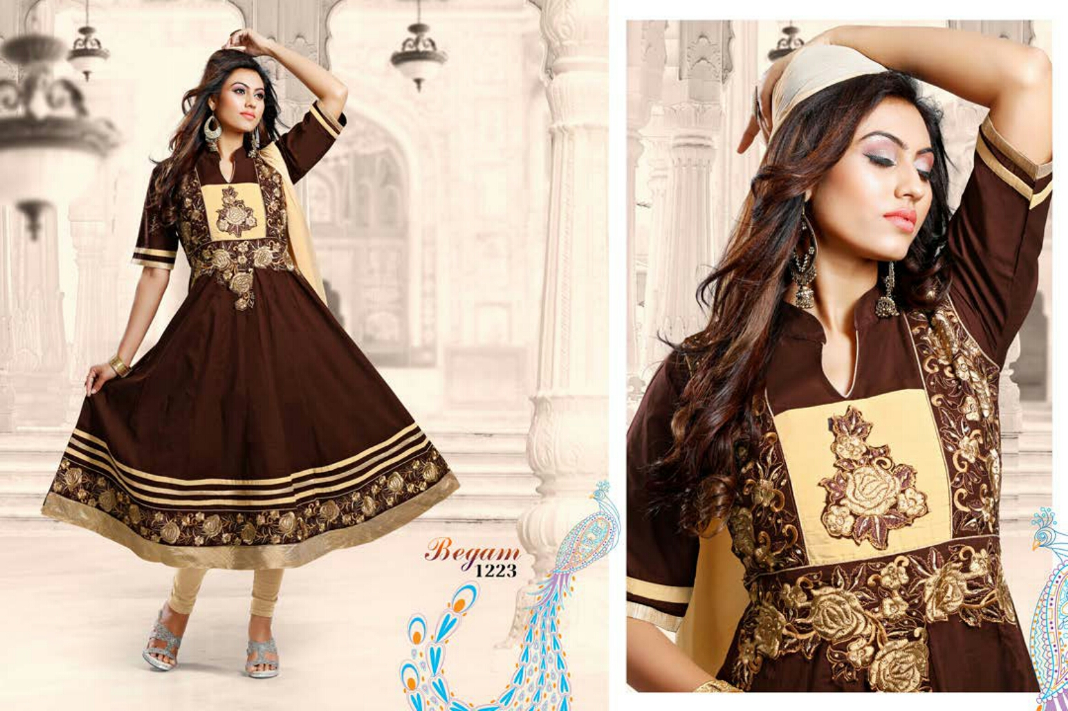 Begam – Beautiful Ready To Wear Designer Suit Buy Online