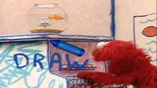 Elmo World Drawing