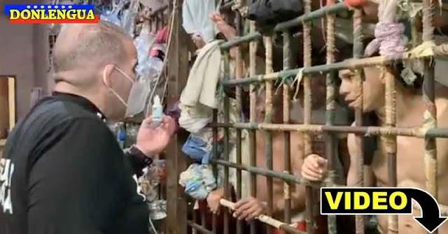 Régimen está probando efectos de las gotas Carvativir en los pobres presos de La Guaira
