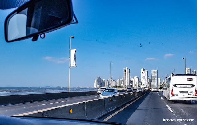 Tráfego na Cidade do Panamá