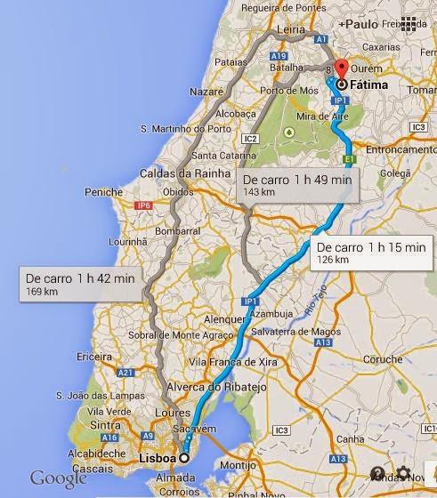 mapa da cidade de fatima em portugal Paletar: FÁTIMA ( Portugal ) mapa da cidade de fatima em portugal