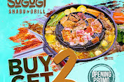 SOGOGI SHABU & GRILL Promo Opening Lebak Bulus Buy 2 Get 2 Periode 17-19 Februari 2020