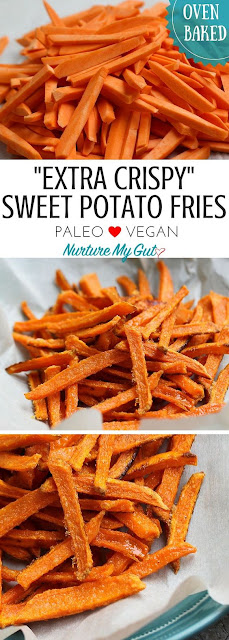 This Crispy Oven Baked Sweet Potato Fries - Favourite Recipe