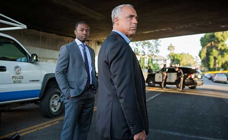 Titus Welliver and Jamie Hector star in Bosch.
